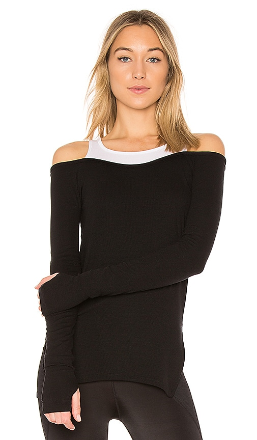 Splits59 Alley Long Sleeve Tee in Black