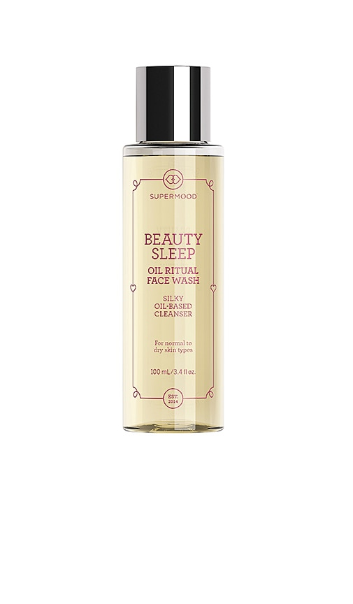 SUPERMOOD Beauty Sleep Oil Ritual Face Wash in N/A