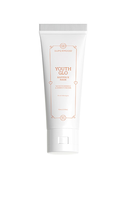 SUPERMOOD Youth Glo The Babyface Mask in N/A