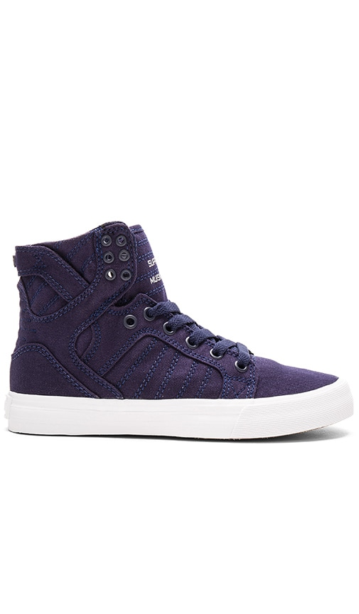 Supra Skytop D High Top Sneaker in Navy