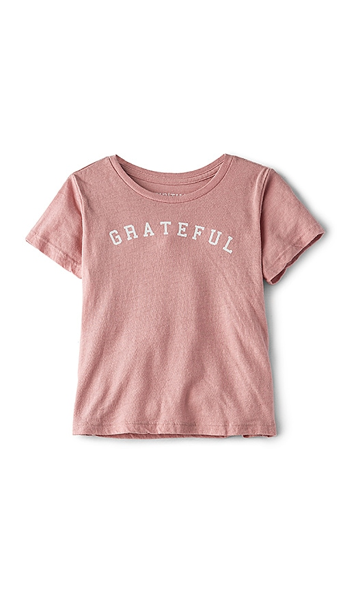Spiritual Gangster Grateful Tee in Pink