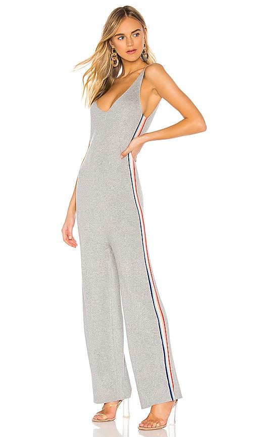 x Madeleine Thompson Stripe Jumpsuit