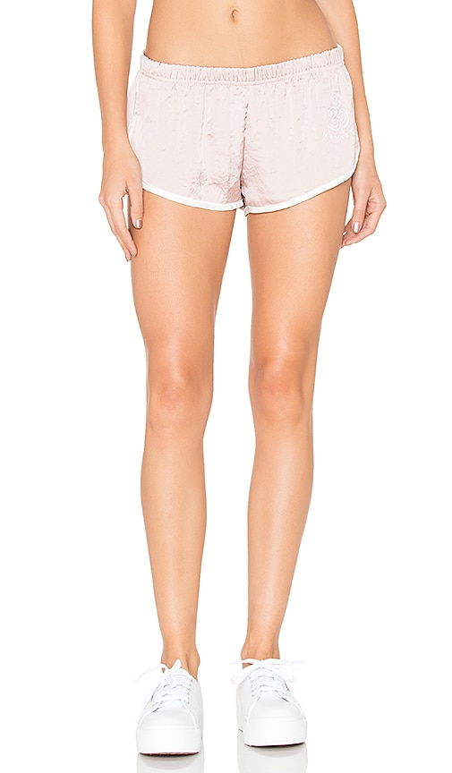Spiritual Gangster Om Namaste Short in Blush