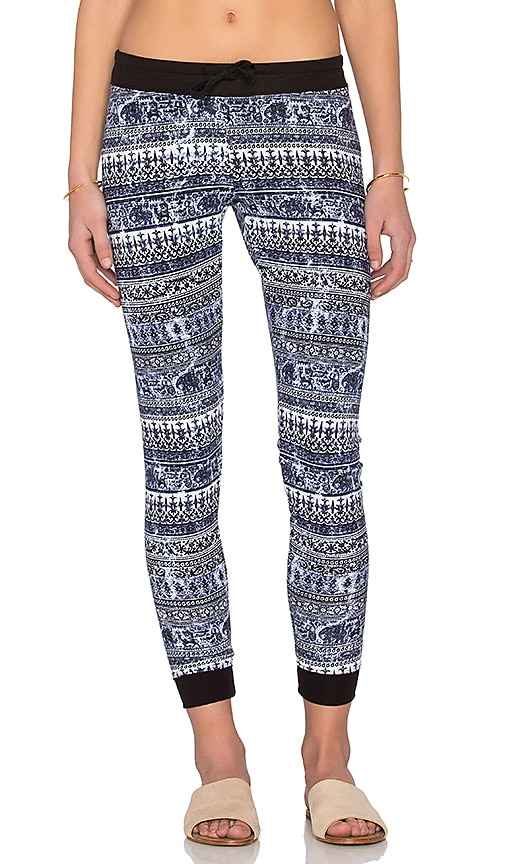 Spiritual Gangster Muse Sweatpant in Black