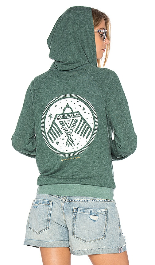 Native Bird Stamp Savasana Hoodie