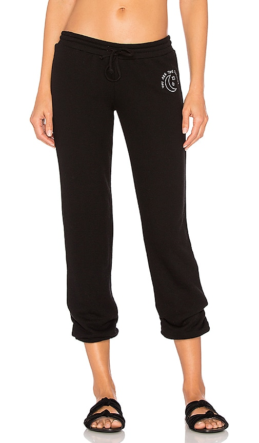 Spiritual Gangster The Cosmos Bliss Sweatpant in Black
