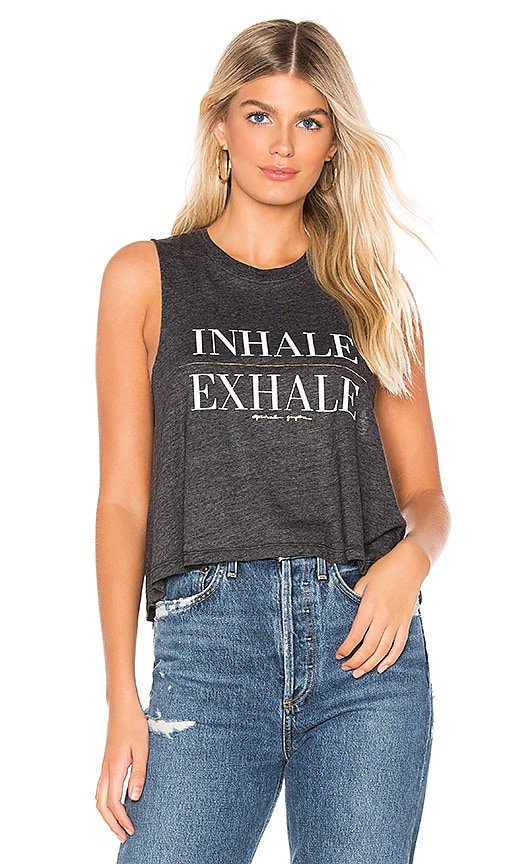 Exhale Crop Tank