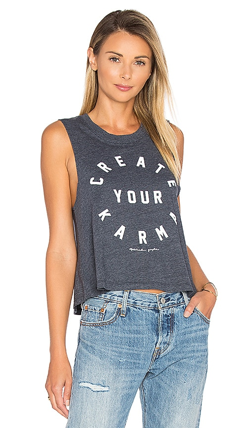 Spiritual Gangster Create Your Karma Tank in Navy
