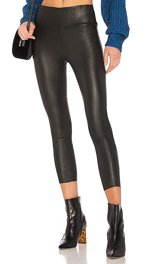 SPRWMN High Waist 3/4 Legging in Black