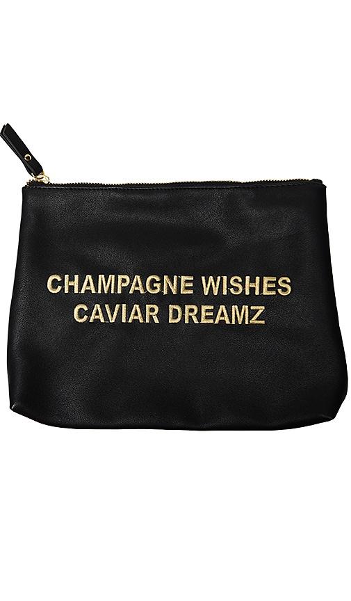 Secret Service Beauty Champagne Wishes Caviar Dreamz Bag in Black