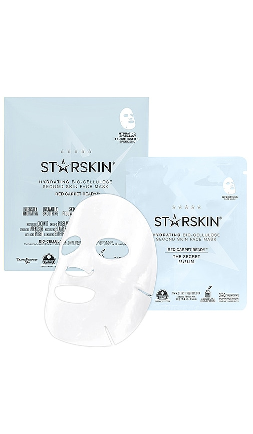 Red Carpet Ready Hydrating Bio-Cellulose Second Skin Face Mask
