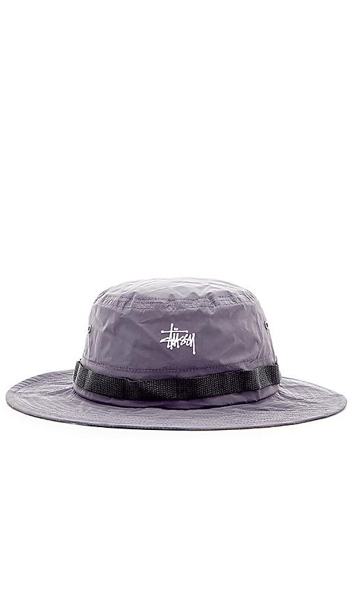 Stussy Reflective Boonie Hat in Black