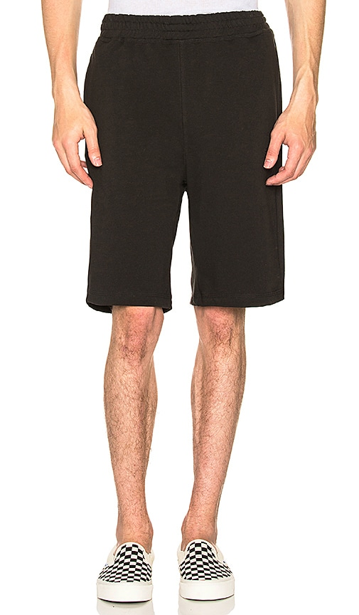 Stussy Stock Terry Shorts in Black