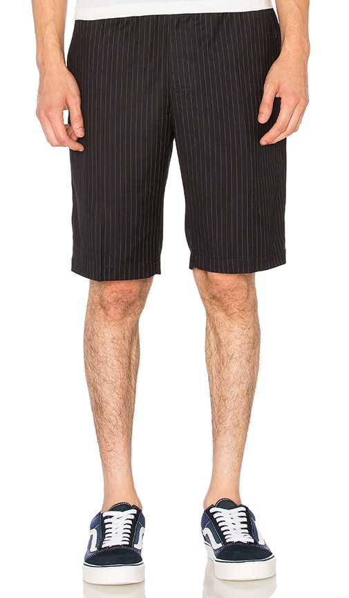 Stussy Wool Dress Beach Short in Navy