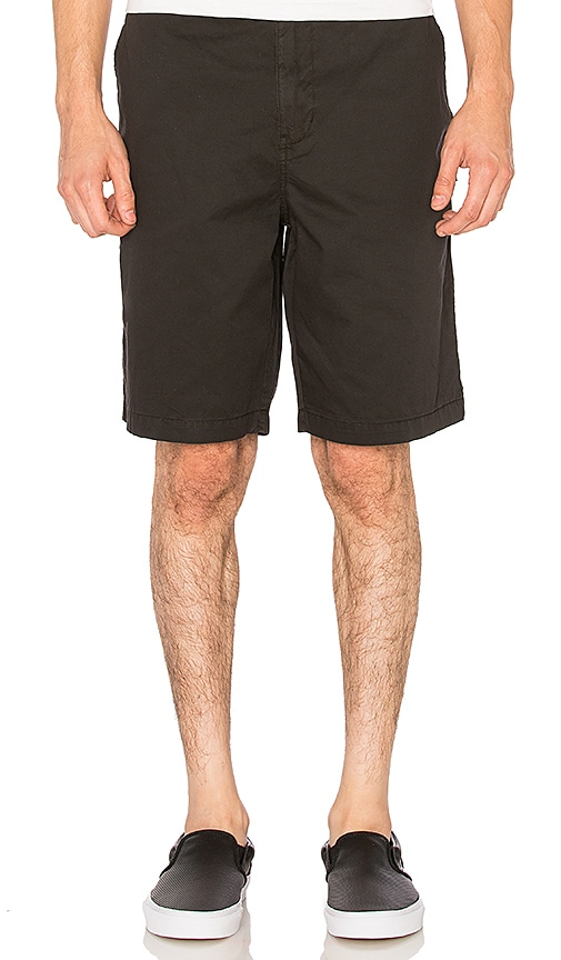 Stussy Mountain Solid Short in Black