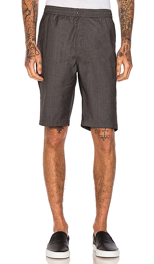 Stussy Bryan Short in Charcoal