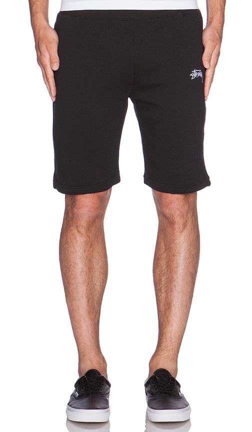 a17e35c7a0 Stussy Training Fleece Short in Black   REVOLVE