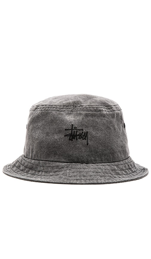 Smooth Stock Enzyme Wash Bucket Hat