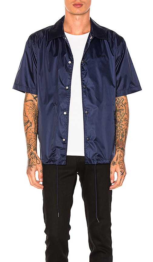 Stussy S/SL Coach Jacket in Navy