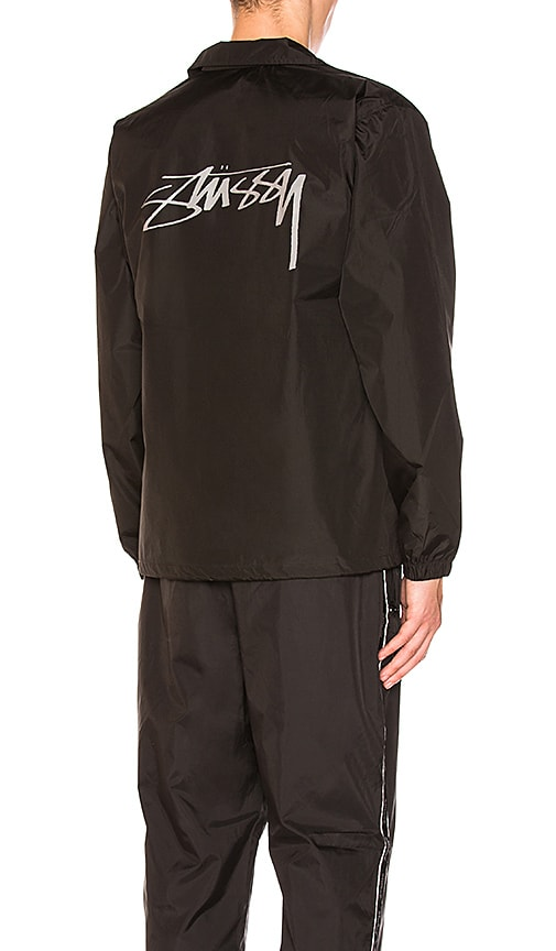 Stussy Cruize Coach Jacket in Black