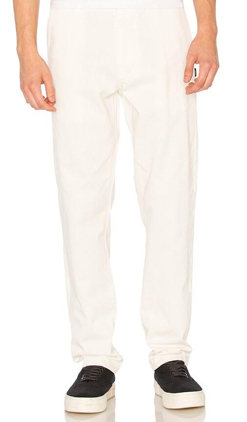 Stussy Garment Dye Chinos in White
