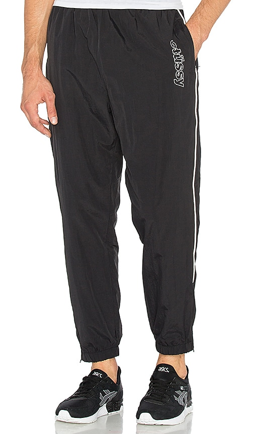 Stussy Reflective Track Pant in Black