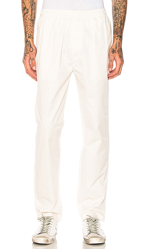 Stussy Light Twill Beach Pant in Cream