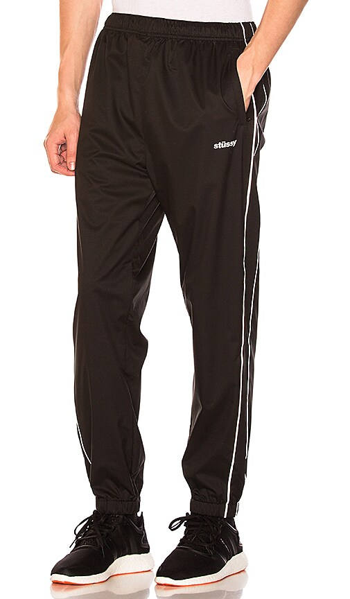Stussy 3M Piping Pant in Black