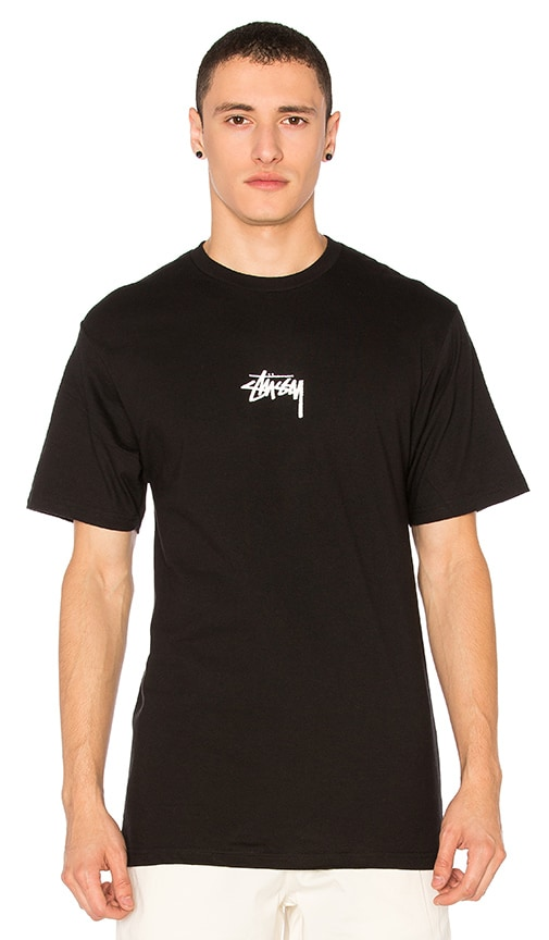 Stussy HD Stock Tee in Black