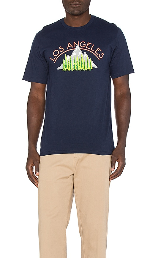 Stussy WT Vacation Tee in Navy