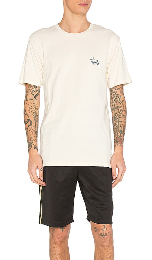 2f075c9a78ef Stussy Basic Stussy Tee in Natural | REVOLVE