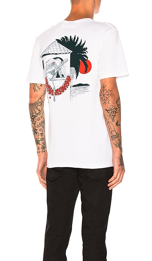 Stussy Downtown Tee in White