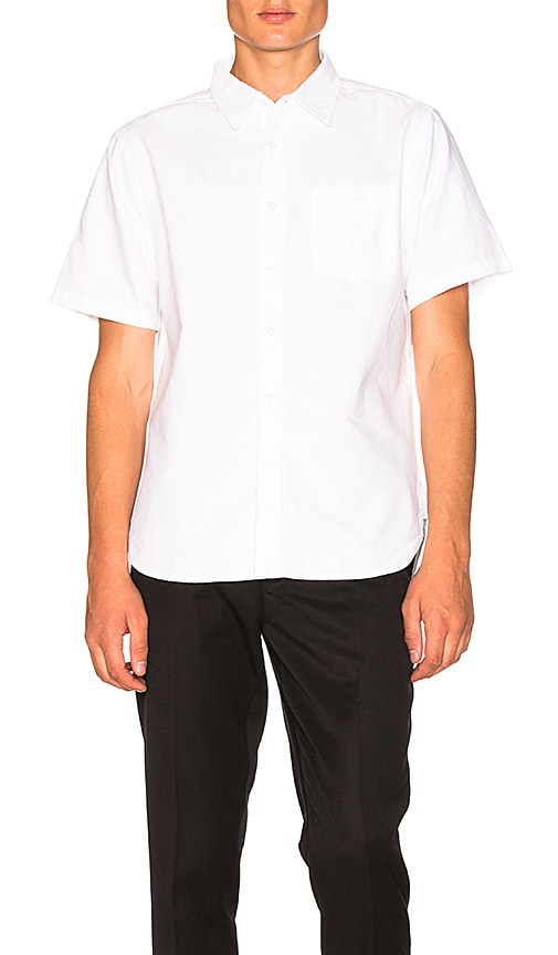 Stussy Classic Oxford Button Down in White