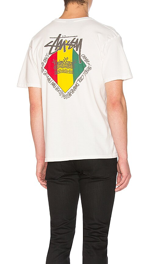 e49457d1ef Stussy Reggae Diamond Tee in Natural | REVOLVE