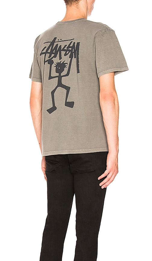 Stussy Warrior Tee in Gray