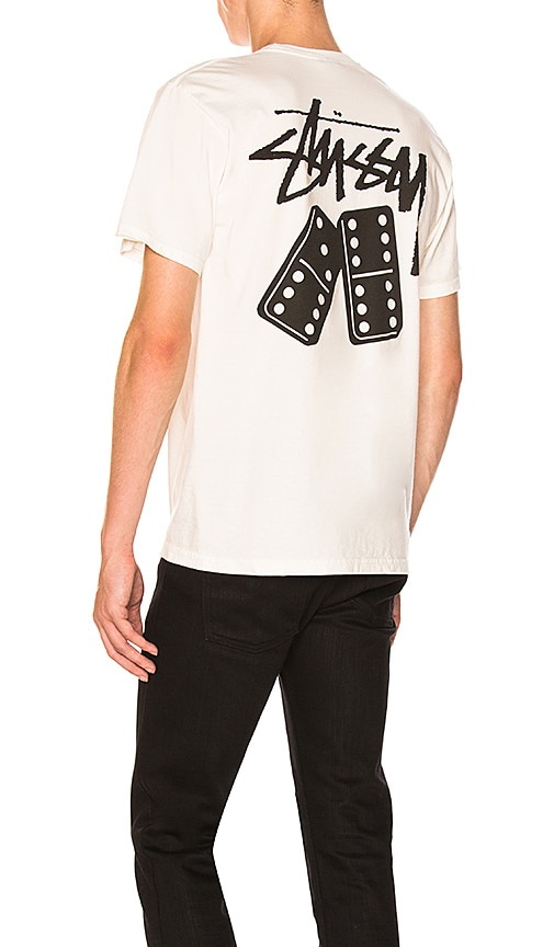 Stussy Dominos Tee in White