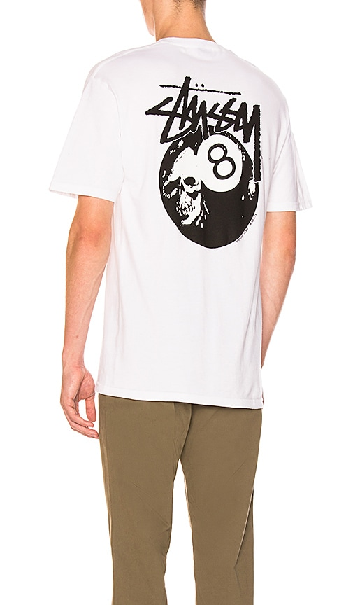 Stussy Don't Scratch Tee in White