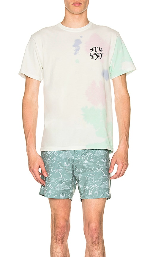 Stussy New Waves Tee in White
