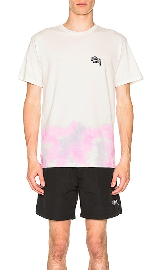 Stussy Clouds Tee in White