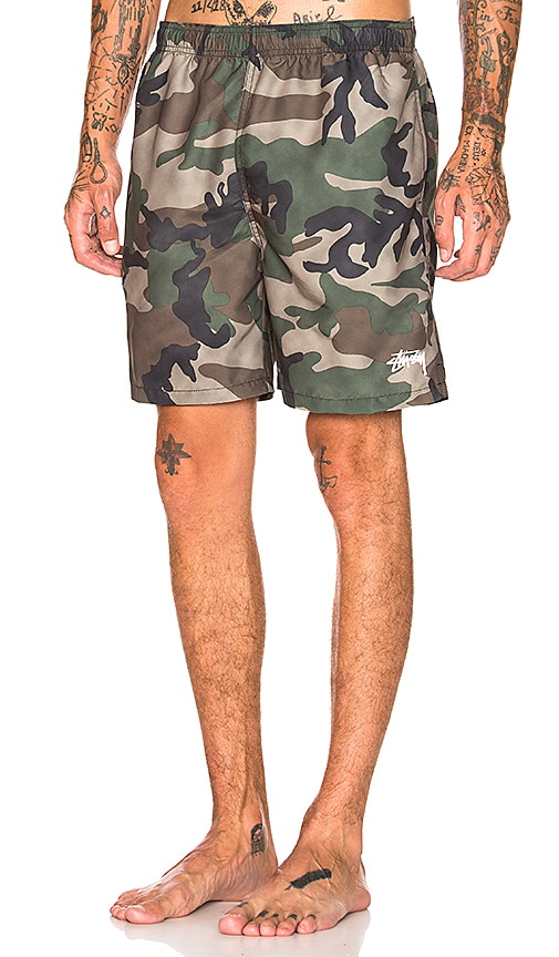 8b3a88ac43 Stussy Water Short in Camo | REVOLVE