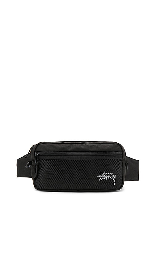Stussy Stock Side Bag in Black
