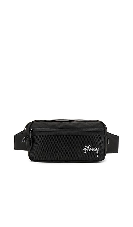 Stussy Stock Side Bag in Black