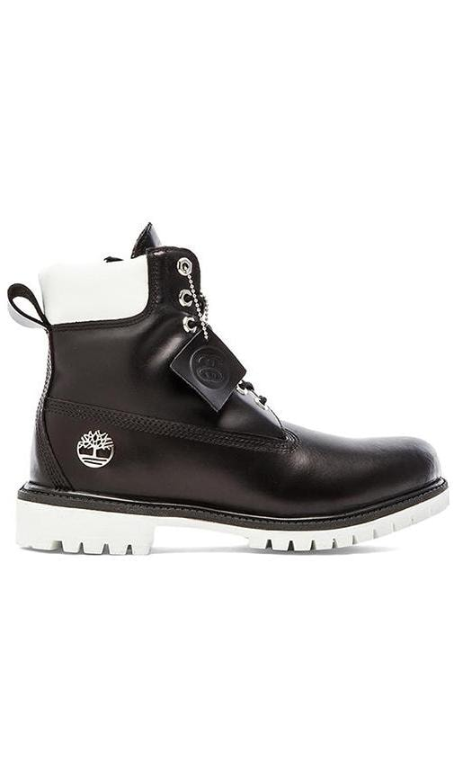 226f2c9a90d2 Stussy X Timberland Boot in Black