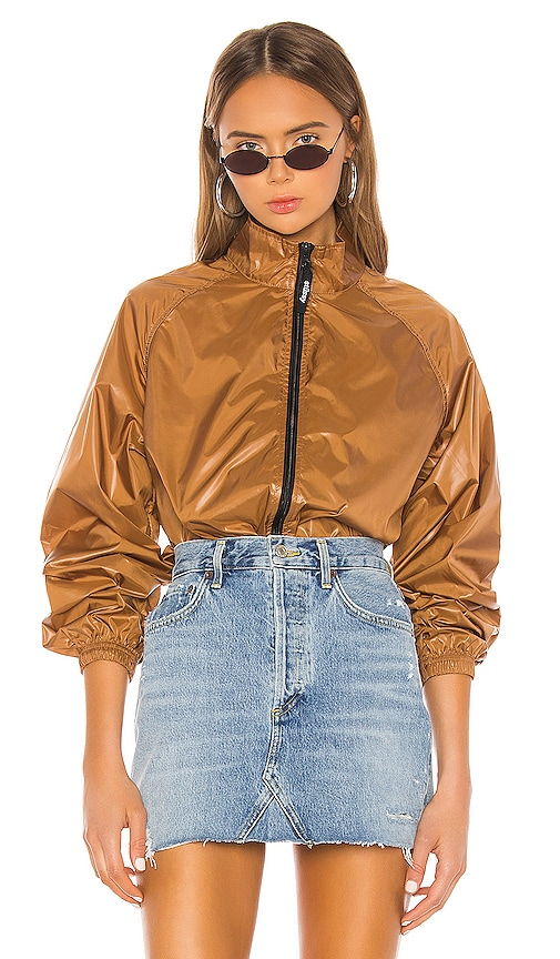 Langley Shiny Zip Jacket