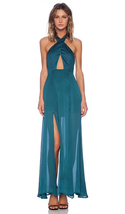 STYLESTALKER The Queen of the Night Dress in Teal | REVOLVE