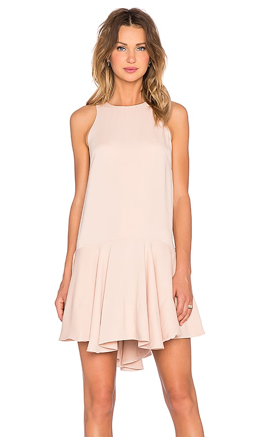STYLESTALKER Rem Shift Dress in Blush