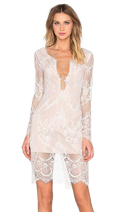 STYLESTALKER Island of Love Dress in White