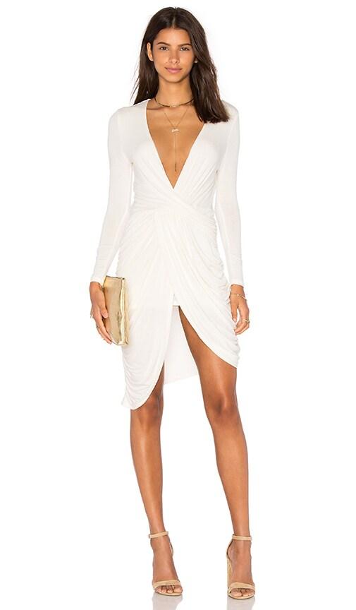 STYLESTALKER Harlem Dress in Ivory