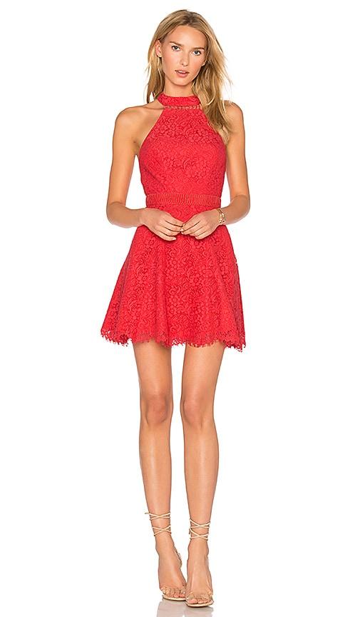 STYLESTALKER Sabine Mini Dress in Orange