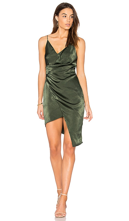 STYLESTALKER Trinity Dress in Green